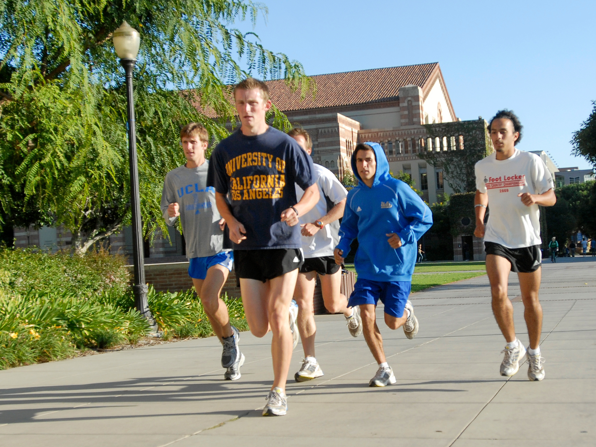 Many UCLA students exercise daily on campus. From running the campus perimeter to attending yoga classes at the Wooden Center, there are many options to stay fit and for students to take pride in being healthy.